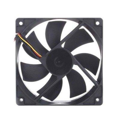 九州风神 12cm机箱风扇 电脑电源风扇静音 12厘米散热风扇led12v 红光