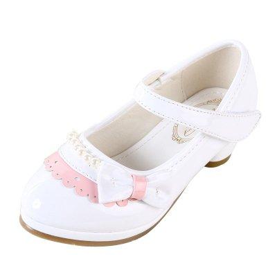2015年春秋季儿童高跟鞋女童豆豆鞋新款学生皮鞋 韩版小公主皮鞋