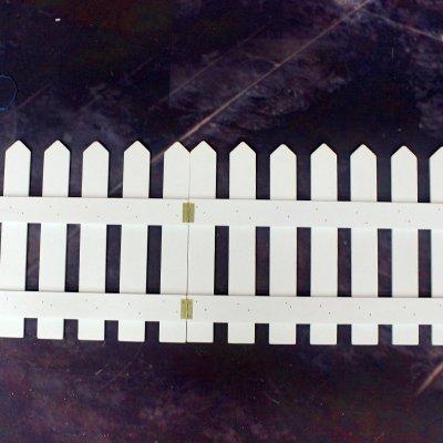 白色木栅栏木围栏 实木圣诞树栅栏 圣诞树装饰围栏 木头篱笆