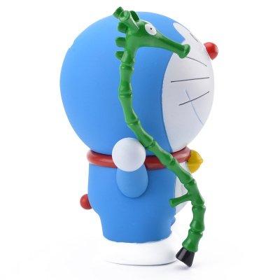 机器猫哆啦a梦手办叮当猫公仔纪念q版玩偶摆件玩具 竹马储蓄罐17cm