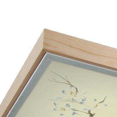 遥控客厅灯卧室田园中国风长方形相框挂画田园装饰