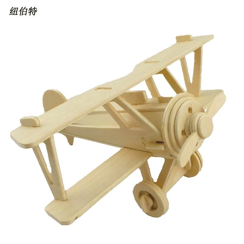 木制3d仿真立体飞机模型