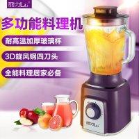 丽力 LL-L011家用多功能料理机耐高温玻璃榨汁机辅食搅拌沙冰绞肉机