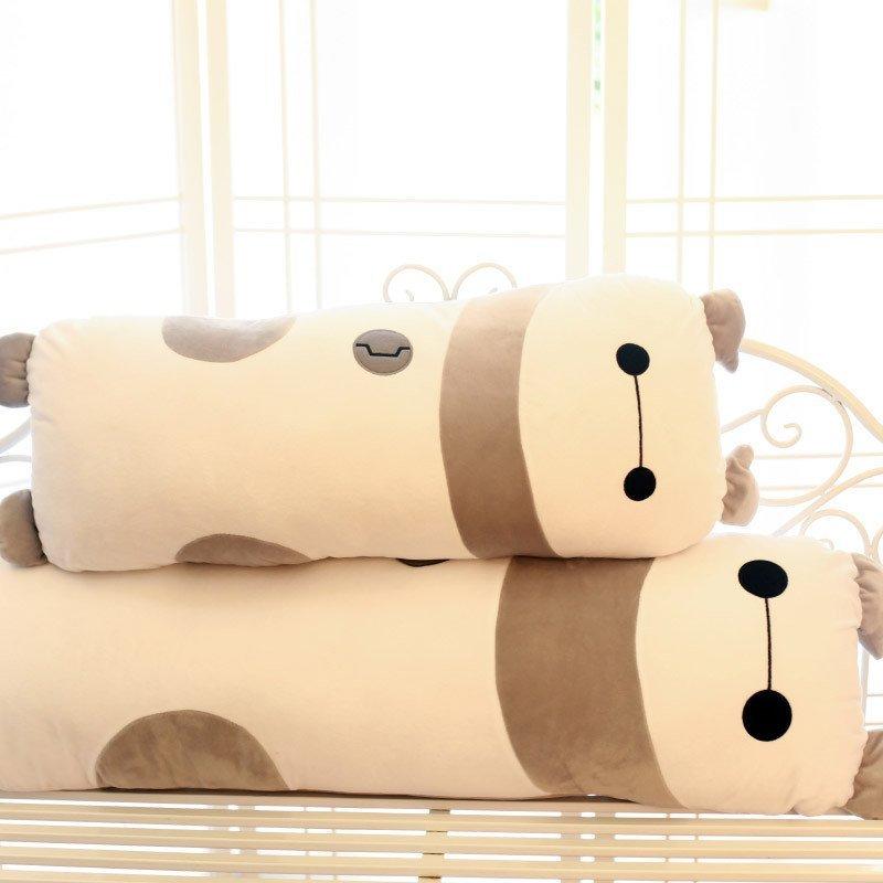 可爱卡通熊猫抱枕 大号毛绒玩具公仔布娃娃 双人靠垫枕头可拆洗 大白