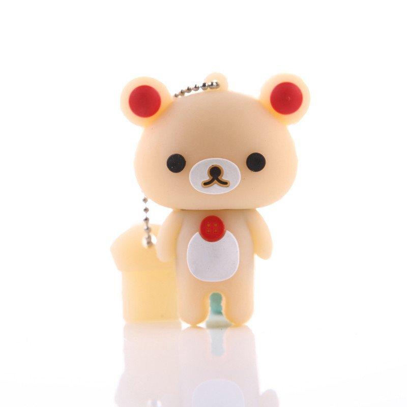 sauk 轻松小熊 32gu盘 卡通u盘 创意优盘 可爱小u