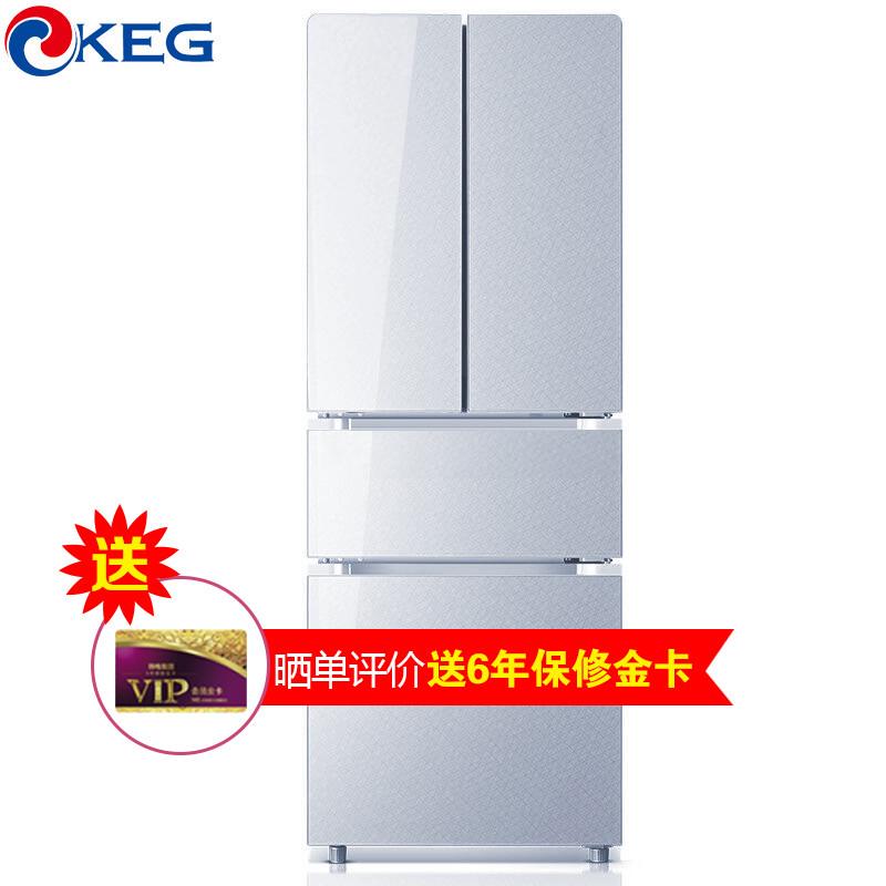 韩电冰箱BCD-288CP4D靓雅银