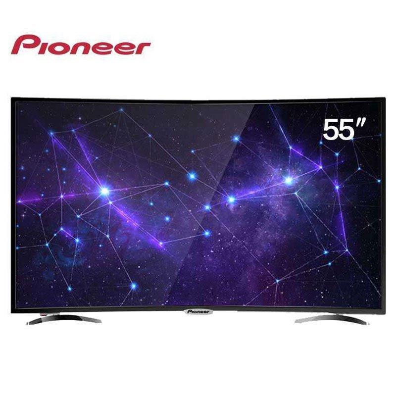 先锋(Pioneer) LED-55CU550 55英寸 4K 超高清 曲面 网络 智能 液晶电视