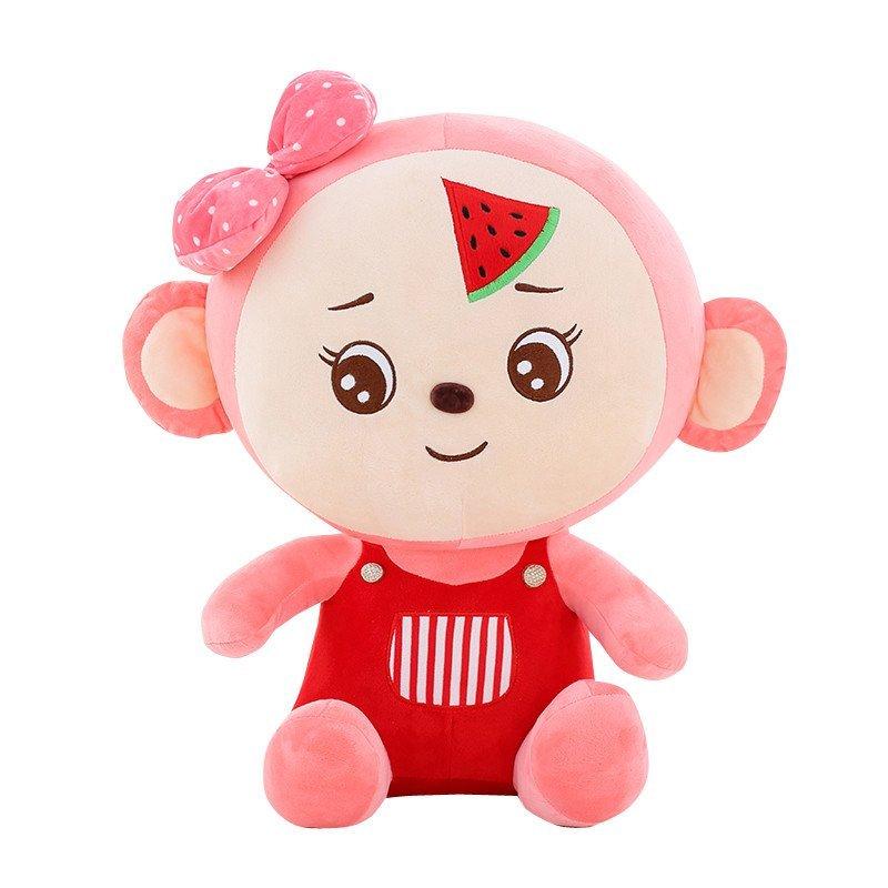 开心大嘴猴卡通毛绒玩具可爱布娃娃大号情侣生日礼物一对猴子公仔