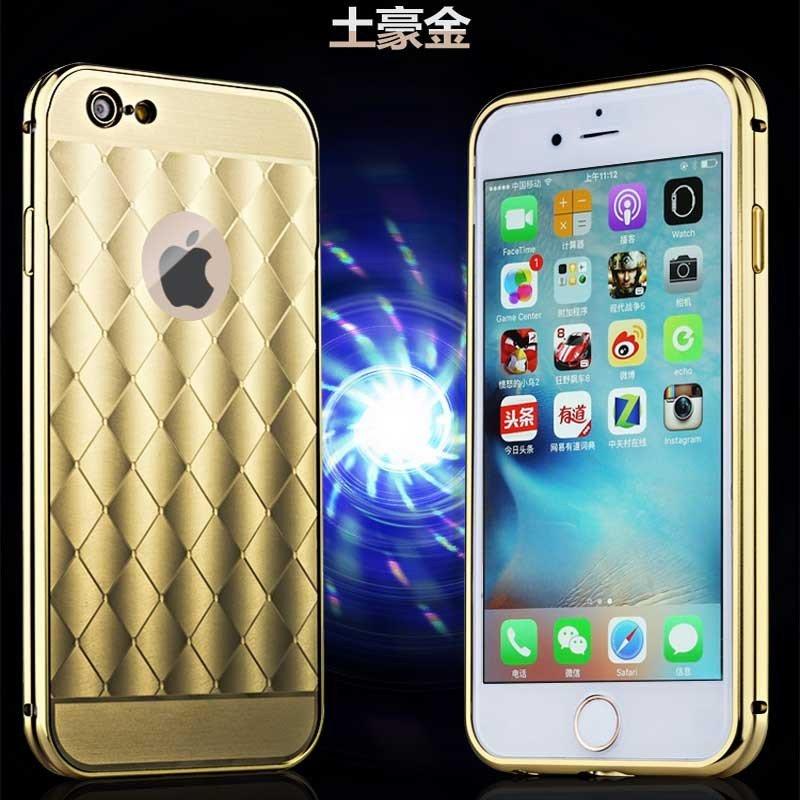 【ikk】新款苹果6s plus手机壳 iphone6s plus超薄金属边框 5.