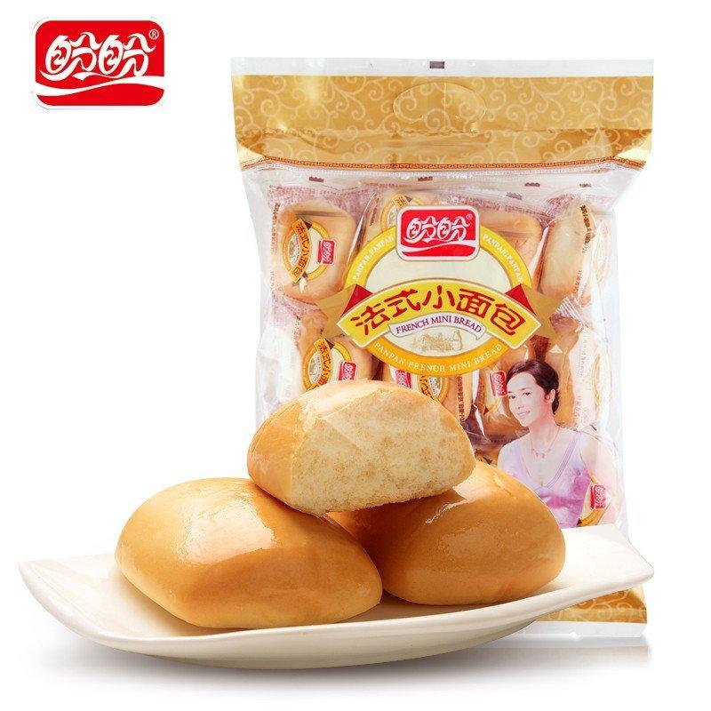 盼盼法式小面包奶香味440g 西式糕点面包早餐点心下午茶点高清实拍图图片
