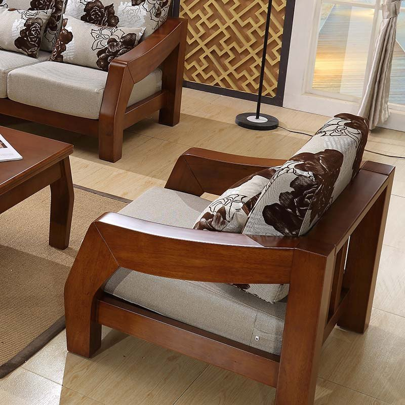 实木沙发组合
