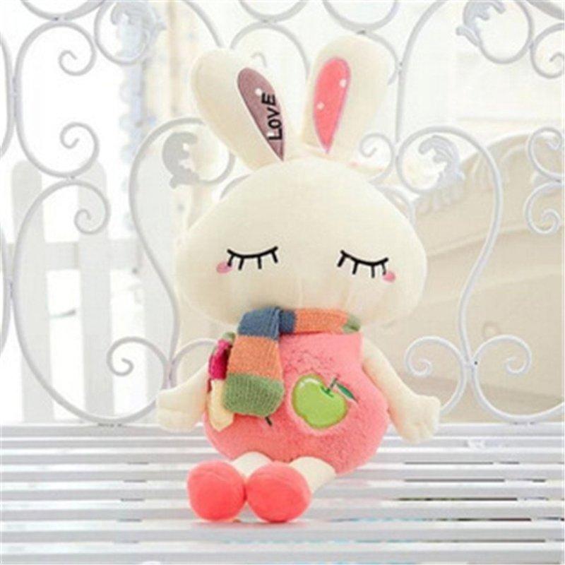 萌萌猪 米菲兔毛绒公仔love兔玩偶小兔子玩具儿童抱枕女生日节日可爱