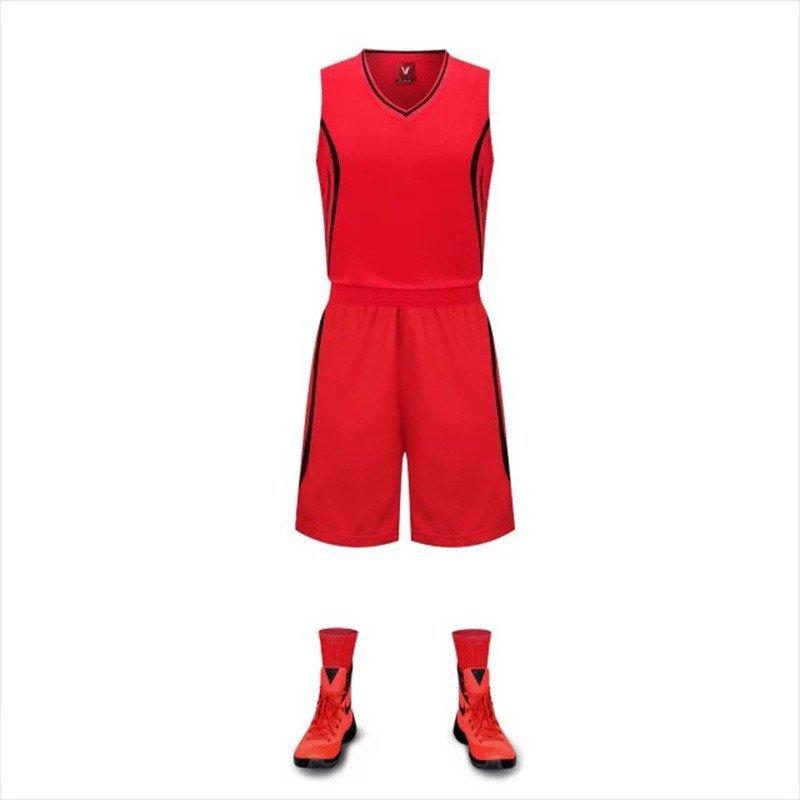 篮球服红色