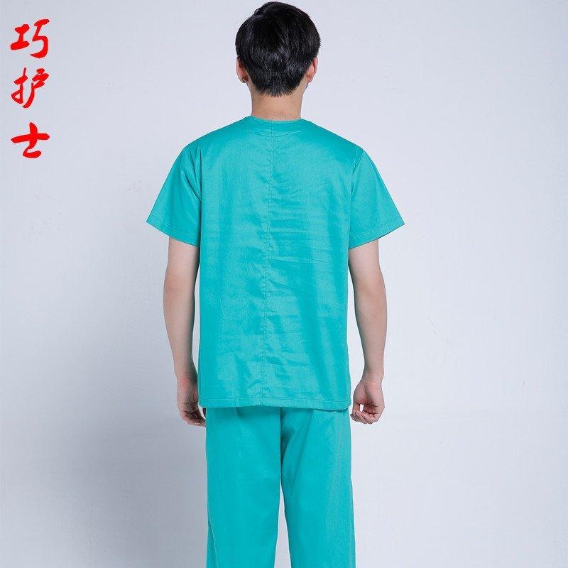 巧护士 男医生洗手衣 刷手服 手术衣手术室男医生内穿衣 宠物医院医生