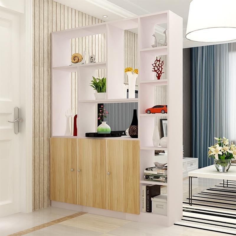 柜置物古董架木质隔断柜屏风客厅展示柜客厅装饰柜
