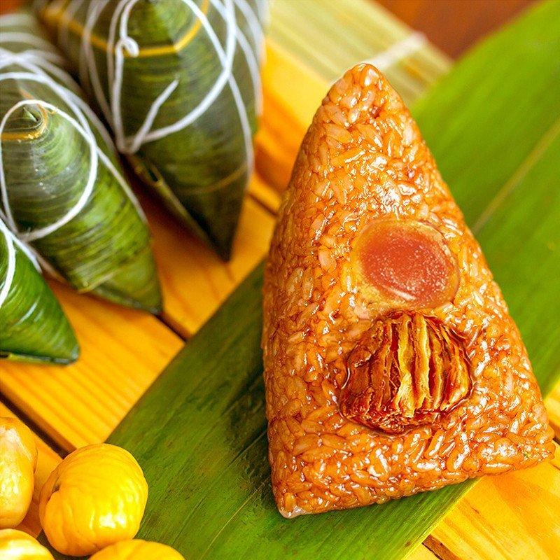思念粽子 端午真空袋装蛋黄猪肉粽200g*3袋6只 早餐食品高清实拍图
