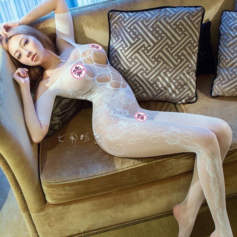 七七色成人电影网_袜网衣性感极度诱惑女情趣内衣成人真人sm骚制服 粉色单件开裆网衣 均