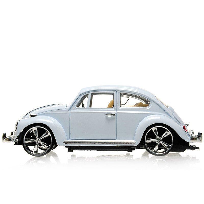 美致复古老爷车大众甲壳虫合金汽车模型合金车儿童玩具儿童礼物黑色