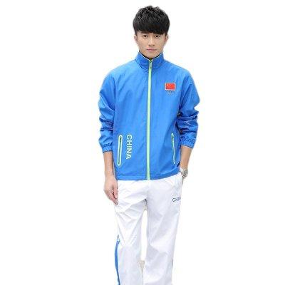 中国队国家队运动服套装 男女春秋冠军领奖服 奥运会出场服定制 xl 90图片