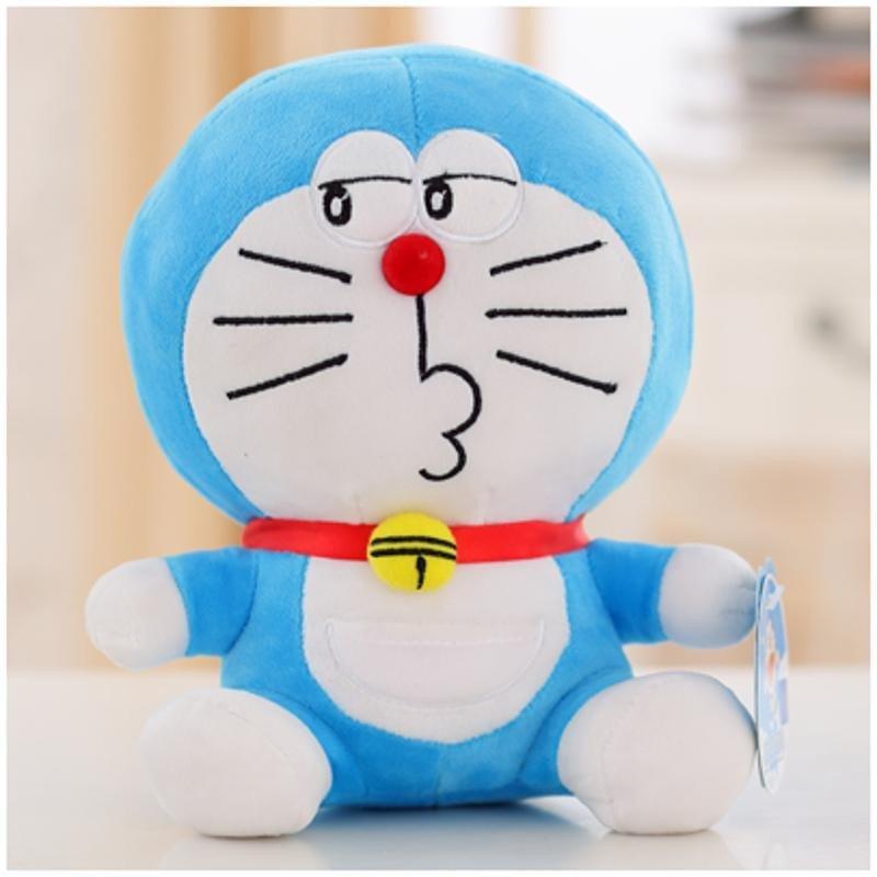 悦达 正版哆啦a梦公仔毛绒玩具蓝胖子机器猫抱枕叮当猫生日情人节礼物