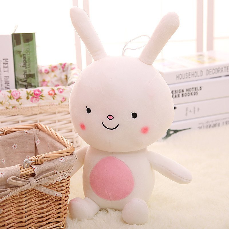 可爱小白兔玩偶儿童布偶娃娃抱枕 生日礼物送女生9175 25厘米 狐狸