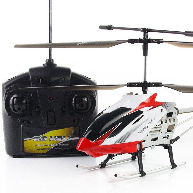 5通道充电合金耐摔遥控飞机航模直升机儿童