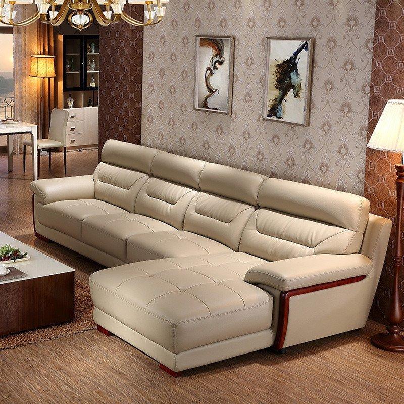 品一 真皮沙发 简约现代型沙发大小户型123组合沙发贵妃沙发客厅家具图片