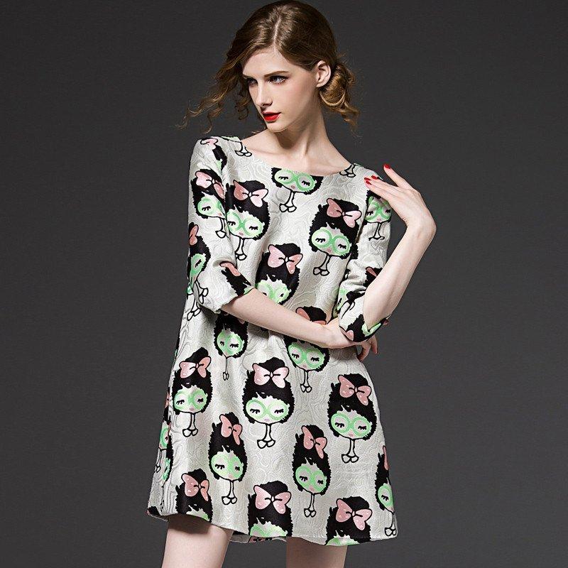 宽松版连衣裙