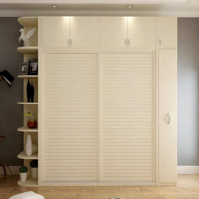 小清新风格壁柜衣柜推拉门