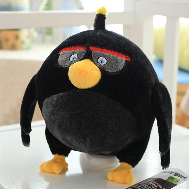 艾蓓妮愤怒的小鸟毛绒玩具公仔可爱女生小猪布娃娃玩偶儿童节生日礼物