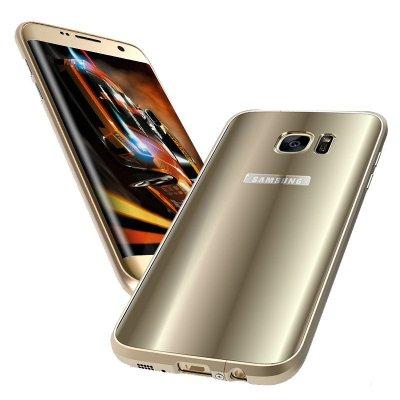 anmb 三星s7 edge手机壳金属边框后盖g9350保护套s7曲面屏防摔炫彩