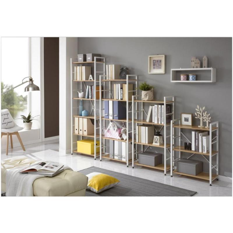 木欧式储物货架铁艺层板架卧室书柜落地收纳架子宜家 隔板长60cm3张