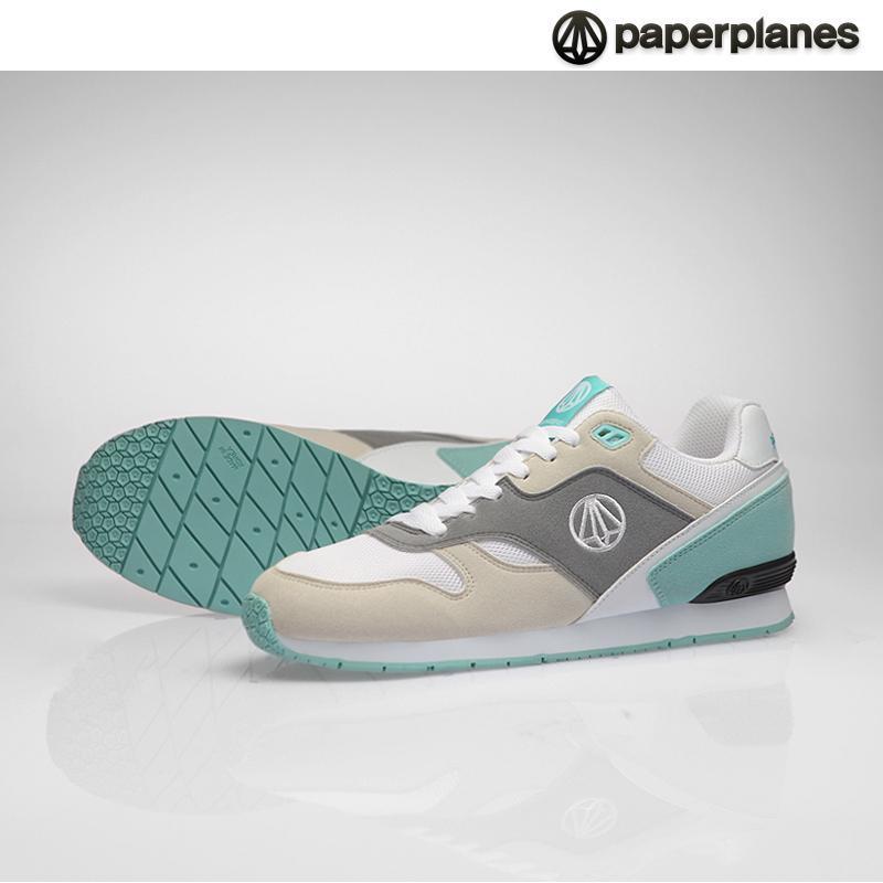 [paperplanes 韩国纸飞机]100%韩国正品pp1367男女情侣气垫运动鞋 _gr