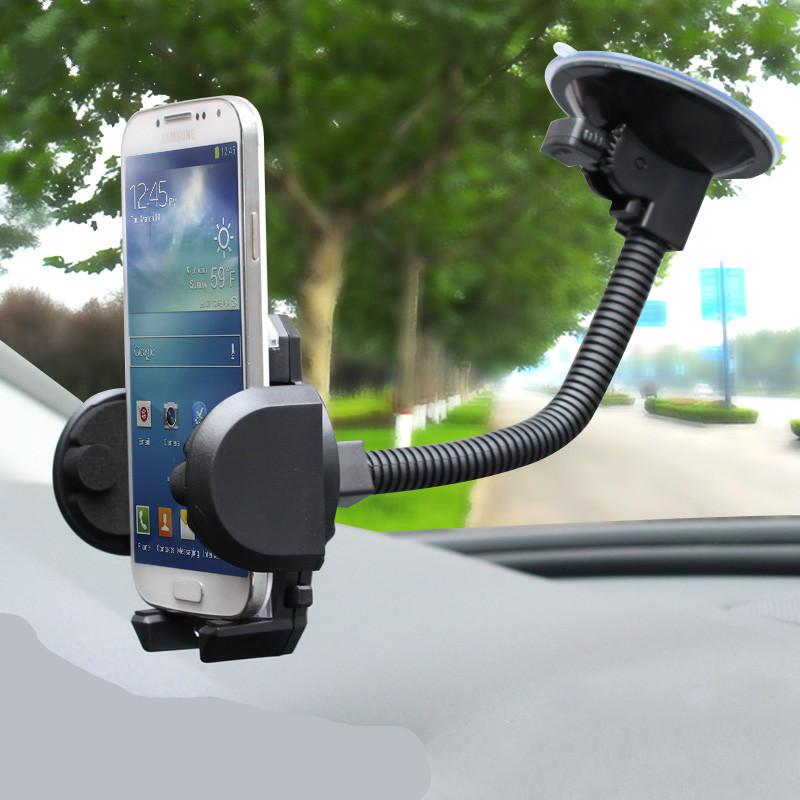 博正 艾可斯车载手机支架 汽车用出风口吸盘式手机导航支架多功能车内