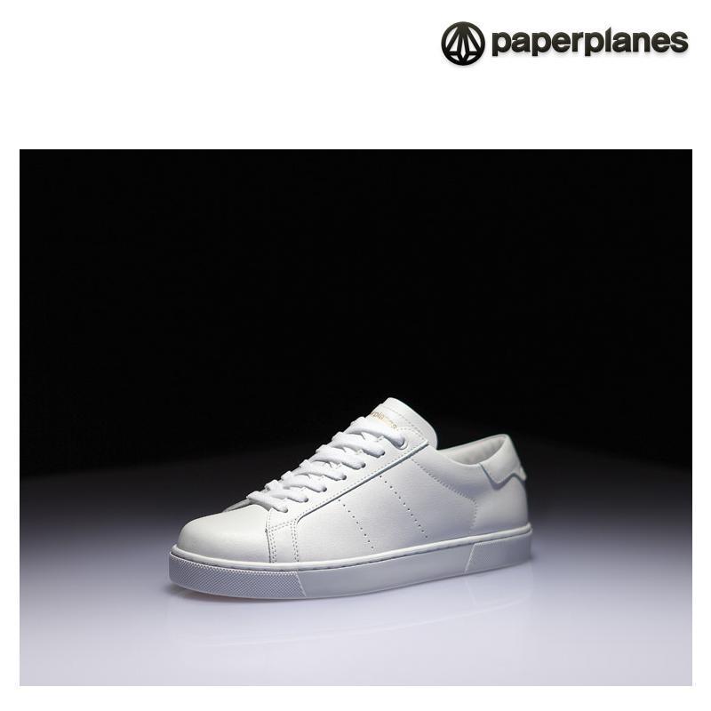 [纸飞机]100%韩国正品pp1353男女情侣气垫运动鞋 _white高清实拍图
