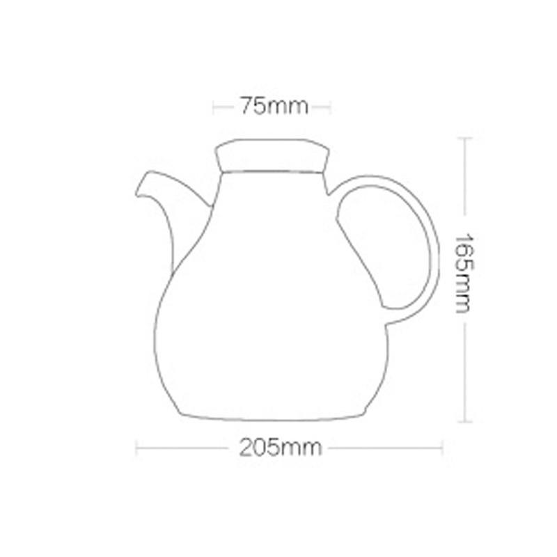 全瓷时代 ci-1800陶瓷电热水壶 1.6升家用电水壶木盖壶