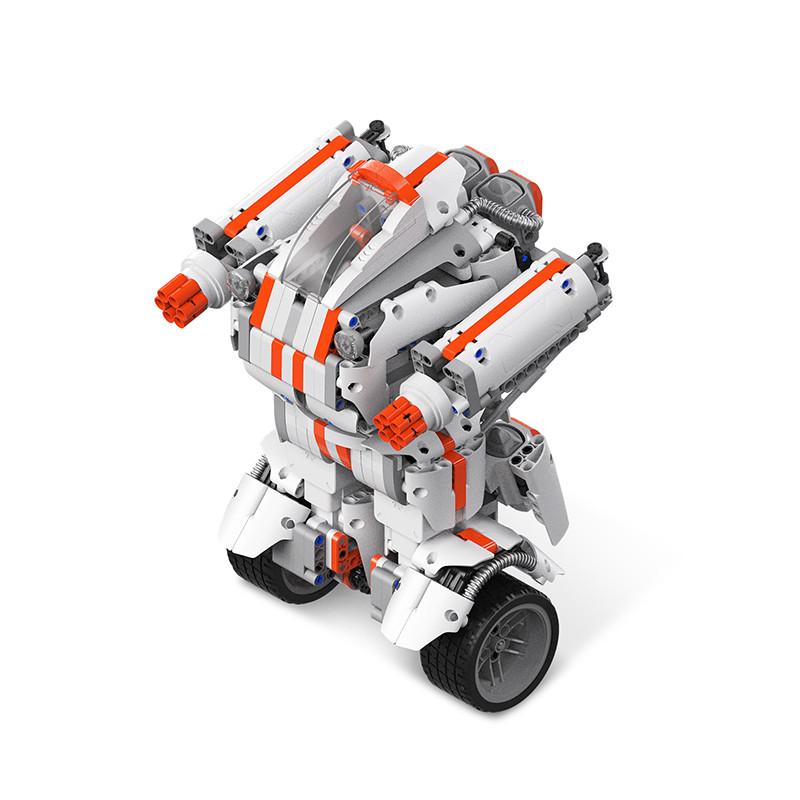 积木加机器人