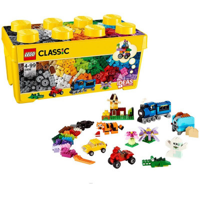乐高lego经典创意10696经典创意中号积木盒积木玩具拼搭趣味