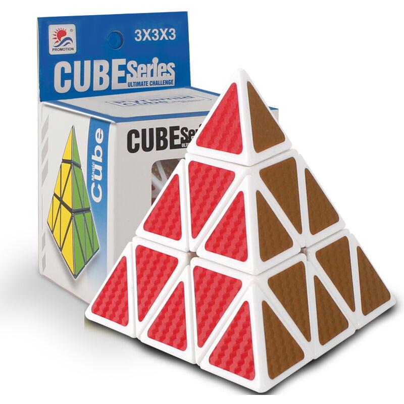 魔方3阶四阶二阶五阶镜面魔方玩具异形三角金字塔竞速顺滑入门比赛