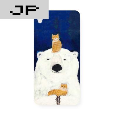 jp潮流品牌新款手绘插画小熊 oppo r9 r7s r7plus原创
