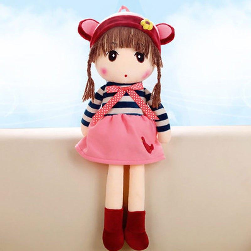 可爱卡通菲儿公主小孩子毛绒玩具女生布娃娃女孩公仔花仙子娃娃儿童