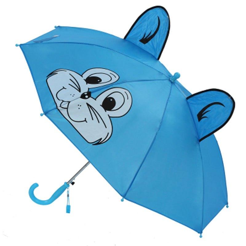 儿童伞卡通小雨伞创意宝宝雨伞动物造型伞创意公主伞幼儿园3d立体卡通