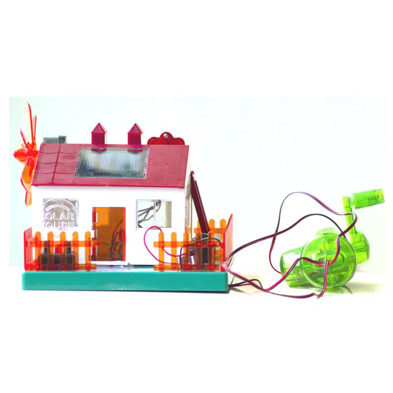 能科学实验儿童科技小制作小学生科普diy小发明材料拼装玩具音乐房子