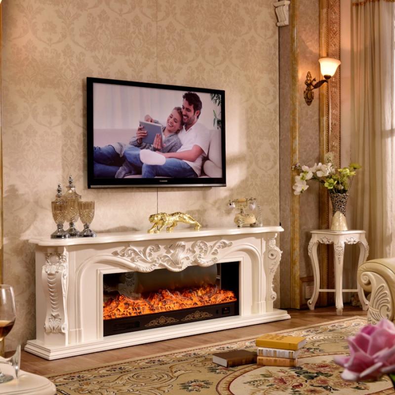 5米/2米 客厅装饰柜 电子壁炉 电视柜 led仿真火 宽1.