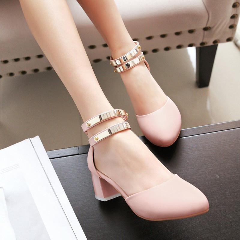 女童凉鞋鱼嘴女童鞋大童高跟鞋夏季儿童公主鞋2016小学生韩版