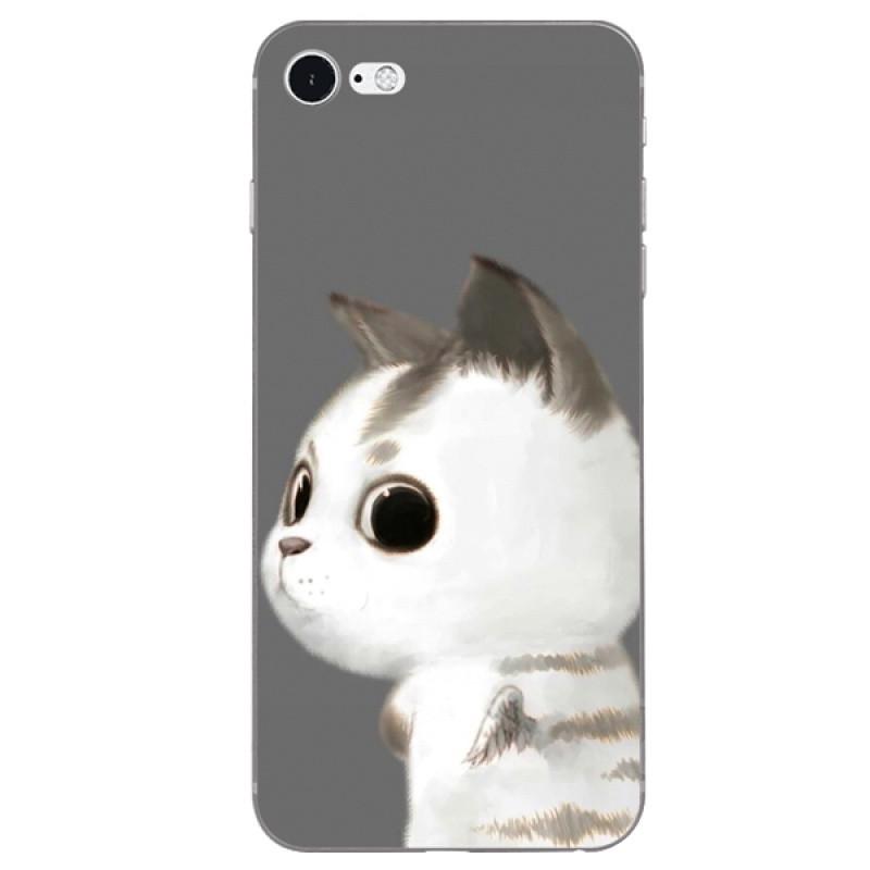 622款oppor11plus手机套r11软胶壳可爱卡通米奇米妮情侣猫咪定制diy r