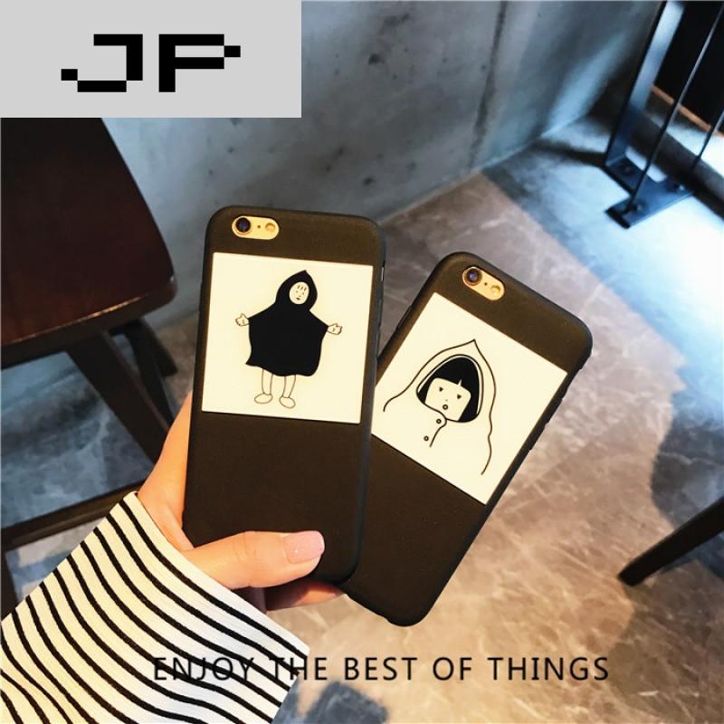jp潮流品牌韩国chic风卫衣简约卡通 魅蓝5/5s手机壳 魅蓝note5全包