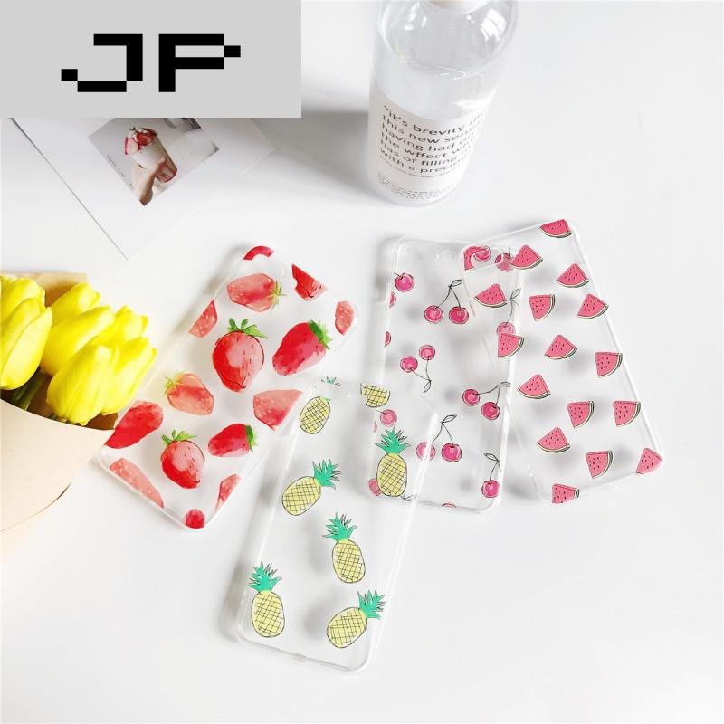 jp潮流品牌夏日小清新水果系列 苹果6手机壳iphone7/6s/plus创意个性