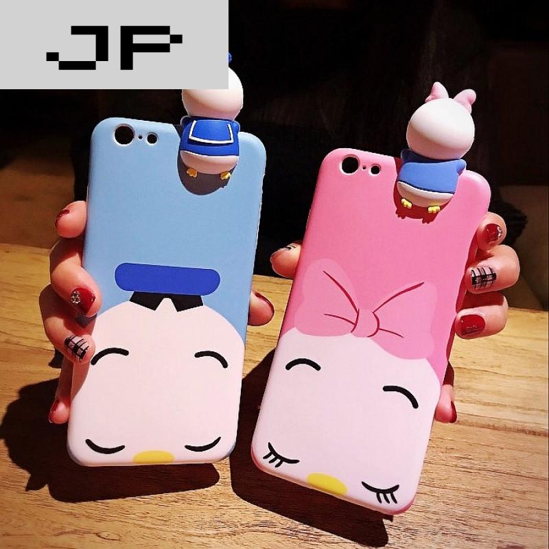 jp潮流品牌创意米奇米妮oppor11plus手机壳女r9s软胶r9plus挂绳卡通