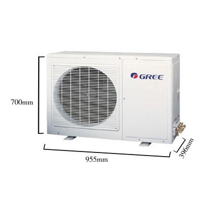 格力空调 大3匹 变频 冷暖柜机 家用空调 圆柱式 i畅